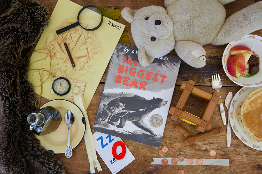 The Biggest Bear by Lynd Ward Preschool Lesson Plan activities