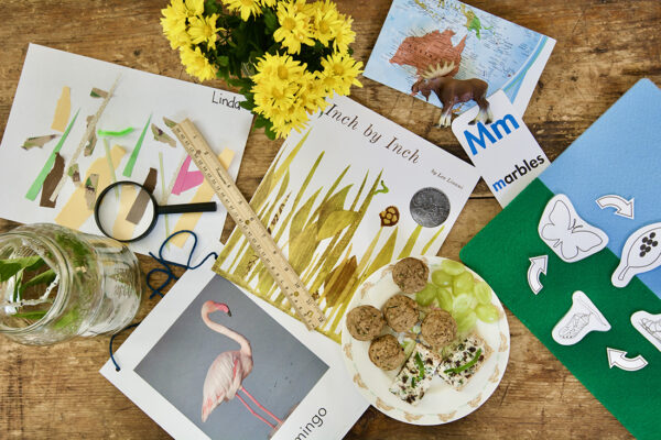 Inch by Inch - Spring Picture Book Lesson Plans