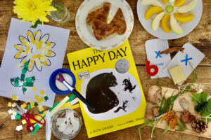 The Happy Day by Ruth Krauss - February Picture Book Lesson Plans