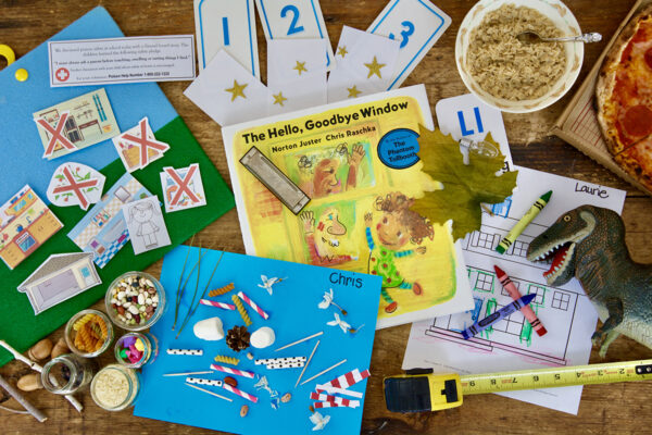The Hello, Goodbye Window - May Picture Book Lesson Plans