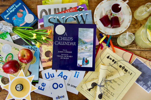 A Child's Calendar - Complete Year of Picture Book Lesson Plans